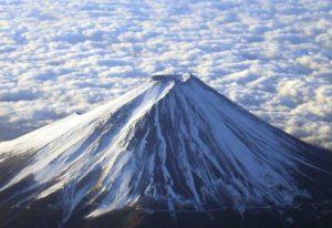 جبل فوجي في اليابان