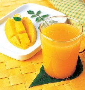 عصير مانجو - طريقة عمل عصير المانجو