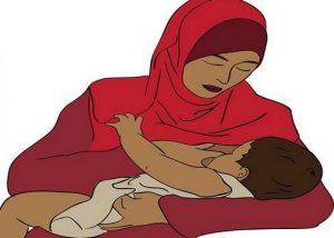 فوائد الرضاعة الطبيعيه للرضيع