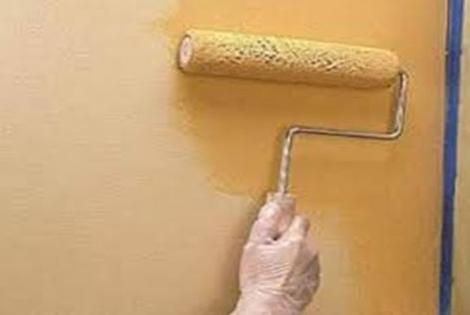 طريقة دهان الحوائط بالبلاستيك على الزيت ابجديه Abjadih