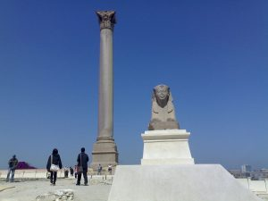 الاثار الفرعونية فى الاسكندرية