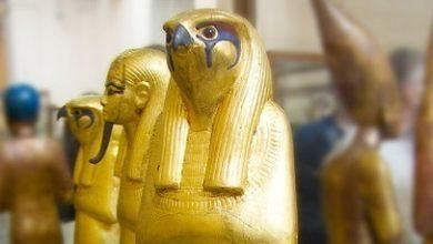 Photo of التماثيل الفرعونية المصنوعة من الذهب