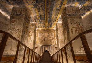 مقابر فرعونية فى الصعيد