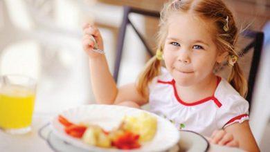 Photo of غذاء الطفل في عمر السنتين