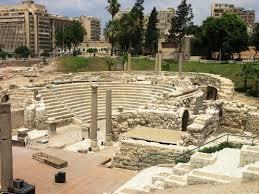 المسرح الروماني بالاسكندرية