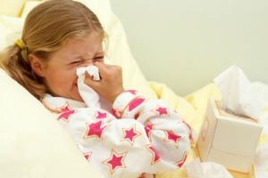 علاج البرد للاطفال