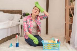 تنظيف البيت بالصور