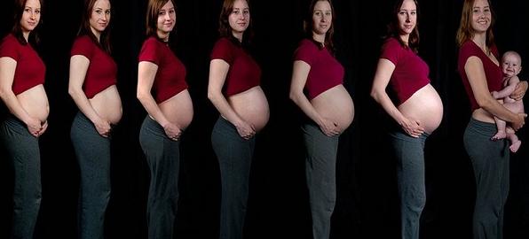 مراحل الحمل بالصور - ابجديه - Abjadih