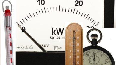 Photo of القياسات الفيزيائية