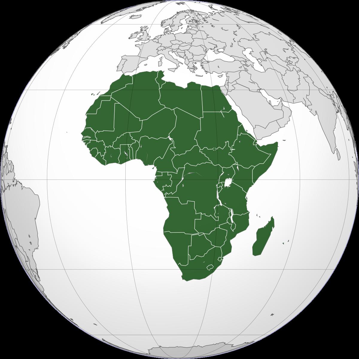 مفاتيح الدول الافريقية