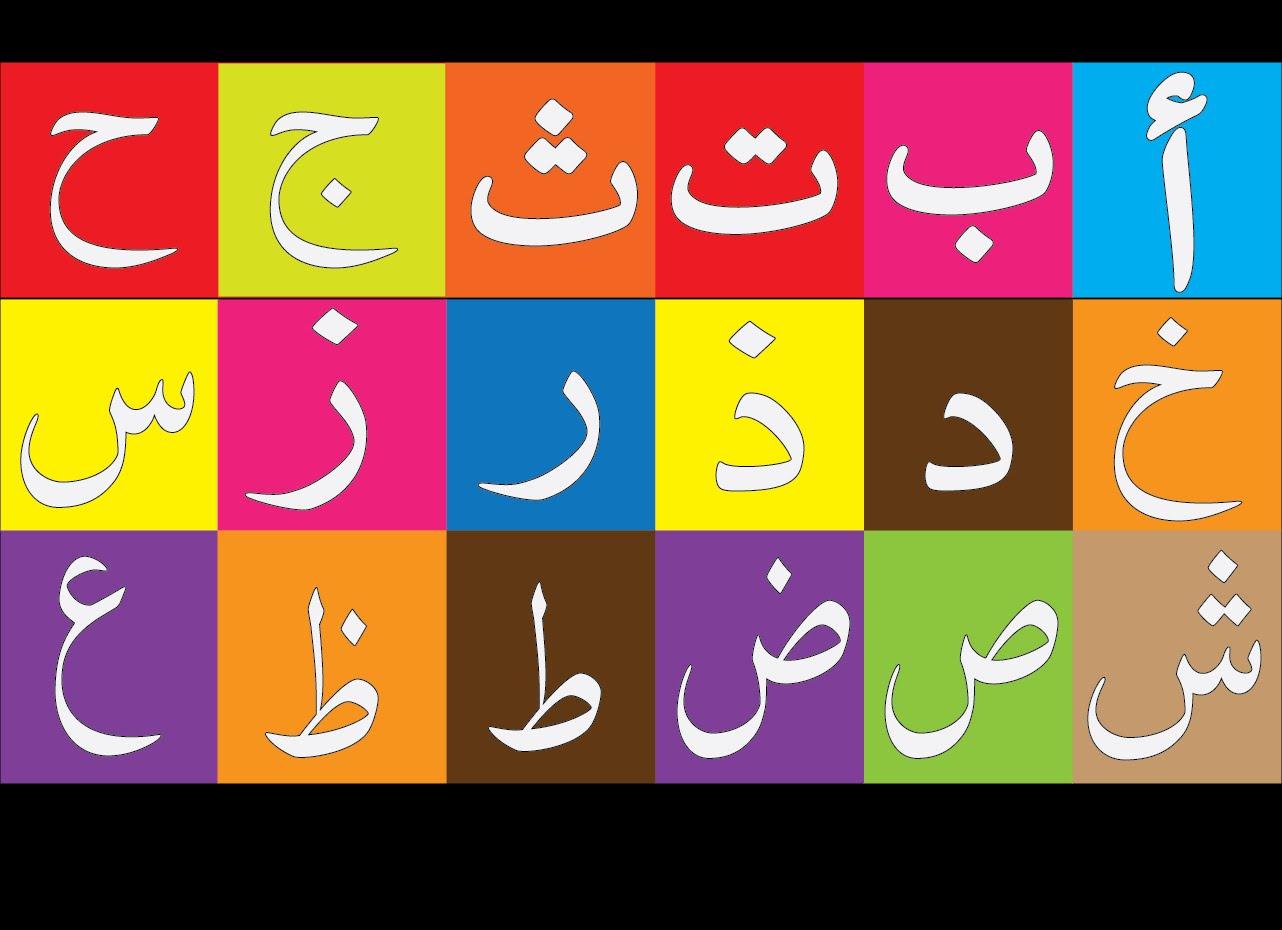 تعلم حروف اللغة العربية - ابجديه - Abjadih