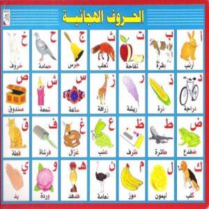 تعلم الكلمات العربية للاطفال
