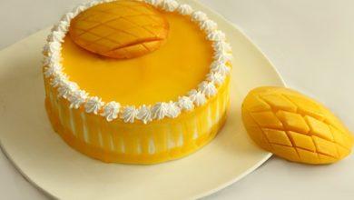Photo of طريقة عمل الكيكة بالمانجو