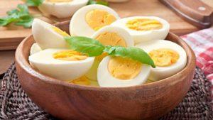 طرق طهي البيض
