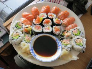 سوشي مطبوخ