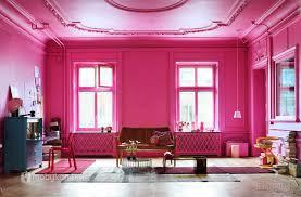 تركيب اللون الفوشي للحوائط