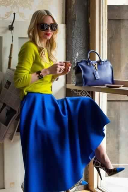 اللون الازرق وما يناسبه من الوان ابجديه Abjadih