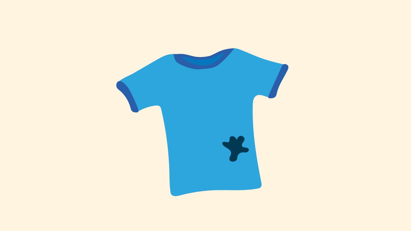 تعلم خطوات كيفية ازالة بقع الحبر من الملابس بالطرق الطبيعية