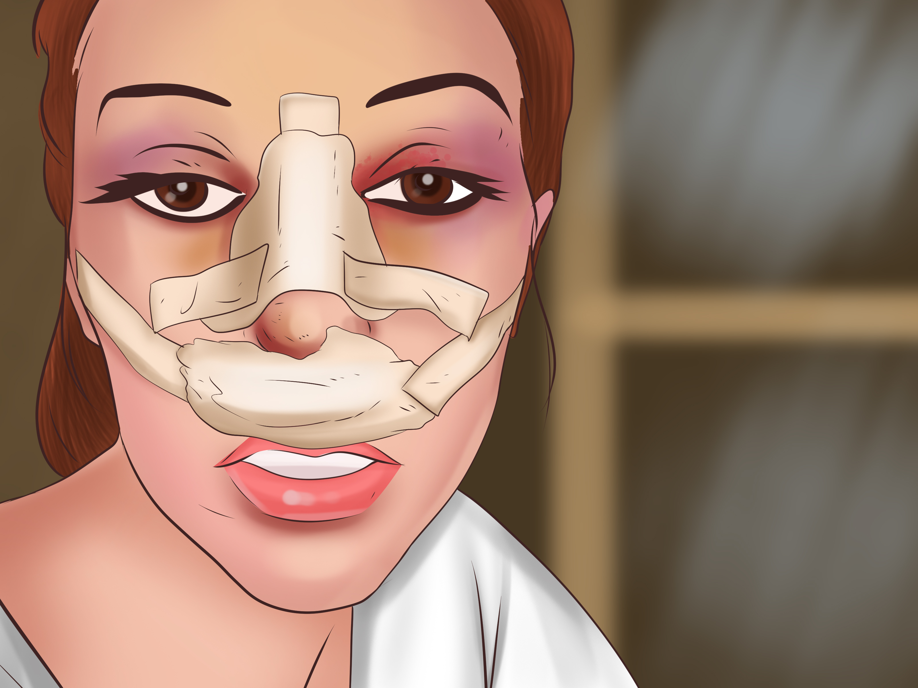 متى يخف تورم الانف بعد عملية التجميل