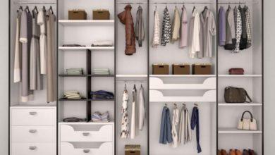 Photo of ترتيب خزانة الملابس