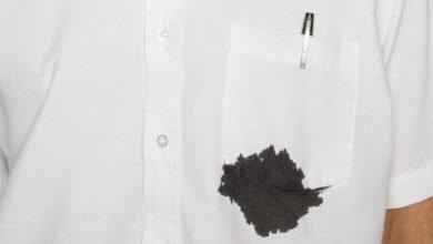 Photo of ازالة بقع الحبر من الملابس البيضاء
