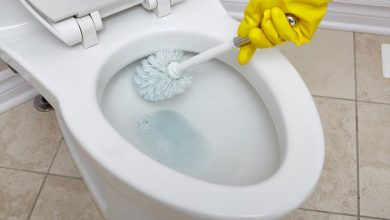 Photo of تنظيف الحمام من الكلس