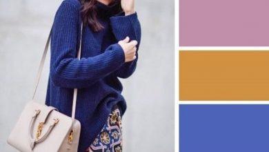 Photo of تناسق اللون الكحلي في الملابس