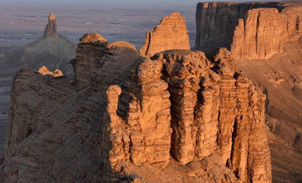 جبل طويق ابجديه Abjadih