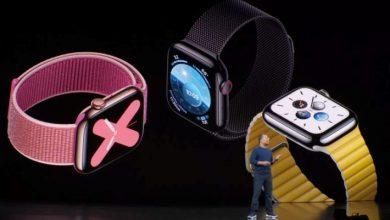 Photo of Apple Watch Series 5
